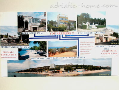 Appartements Dramalj - Crikvenica 01, Crikvenica, Croatie - photo 9