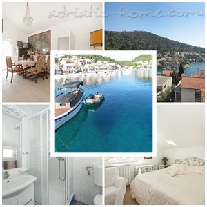 Apartmány VILLA LAGARRELAX 0 Great for couple or friends, Korčula, Chorvatsko - fotografie 1