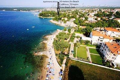 Apartments ATRIUM II-beach 50 meters, Krk, Croatia - photo 13