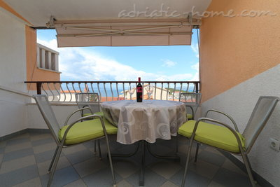 Ferienwohnungen Villa Flamingo 2-5 person 100m center Seaview, Makarska, Kroatien - Foto 11