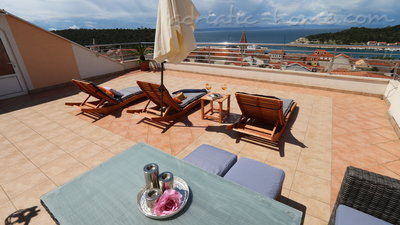 Ferienwohnungen Villa Flamingo 2-5 person 100m center Seaview, Makarska, Kroatien - Foto 14