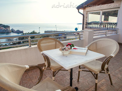 Apartmány RAYMOND-Two bedroom apartments with sea view, Pržno, Čierna Hora - fotografie 2
