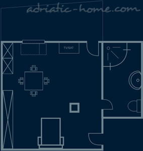 "Studio apartment ""Salvia"" - VILLA NONNA, Vis, Croatia - photo 8"