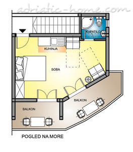 "Studio apartment STUDIO APARTMENTS""SOFIJA"", Budva, Montenegro - photo 5"