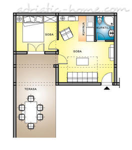"Apartamentos ""FAMILY ONEBEDROOM APARTMENT ""SOFIJA"" WITH BIG BALKONY, Budva, Montenegro - foto 4"