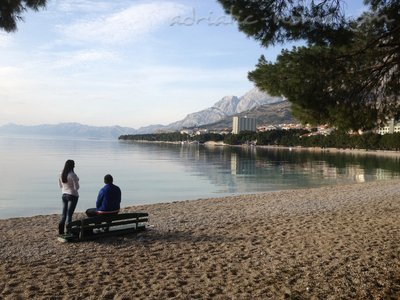 Apartmány Apartment with Balcony and Sea View (3 Adults), Makarska, Chorvátsko - fotografie 11