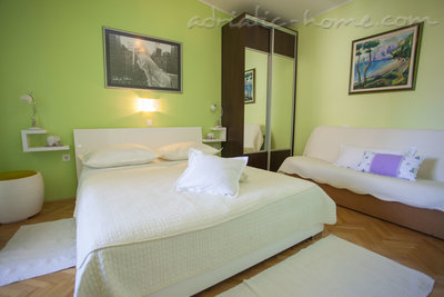 Apartmány Apartment with Balcony and Sea View (3 Adults), Makarska, Chorvátsko - fotografie 13