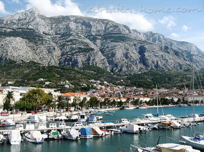 Apartmány Apartment with Balcony and Sea View (3 Adults), Makarska, Chorvátsko - fotografie 9