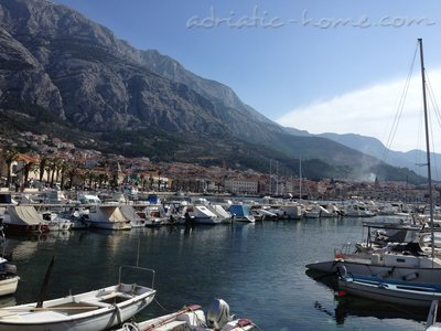 Apartmaji Studio Apartment with Balcony (2 Adults), Makarska, Hrvaška - fotografija 3
