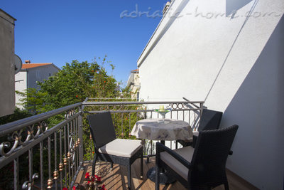 Apartmány Studio Apartment with Balcony (2 Adults), Makarska, Chorvátsko - fotografie 7