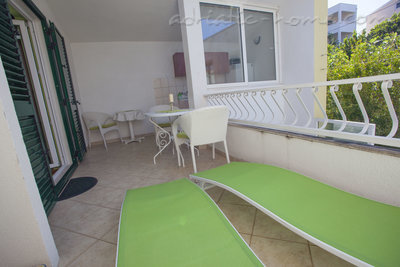 Appartementen Studio Apartment with Terrace (2 - 3 Adults)	, Makarska, Kroatië - foto 12