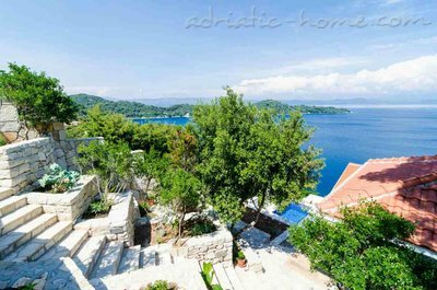 Apartmány Adriatic-house with seaview pool, Mljet, Chorvátsko - fotografie 4