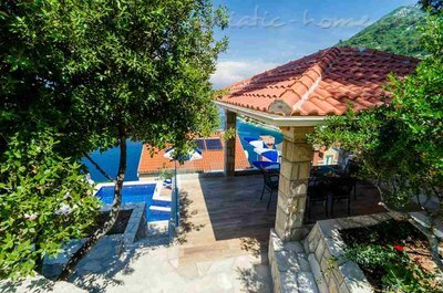 Appartementen Adriatic-house with seaview pool, Mljet, Kroatië - foto 5
