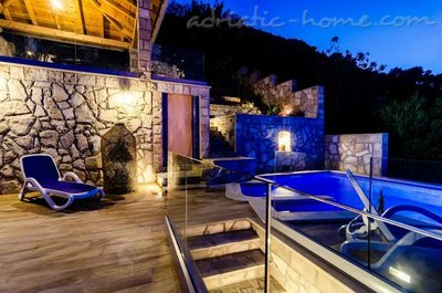 Apartmány Adriatic-house with seaview pool, Mljet, Chorvátsko - fotografie 3