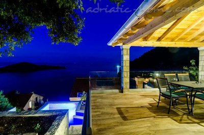 Apartmány Adriatic-house with seaview pool, Mljet, Chorvátsko - fotografie 7