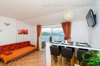 Apartmány Adriatic-house with seaview pool, Mljet, Chorvátsko - fotografie 9