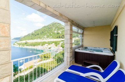 Ferienwohnungen Adriatic-apartment with jacuzzi, Mljet, Kroatien - Foto 7