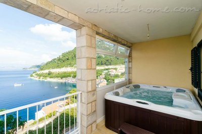 Ferienwohnungen Adriatic-apartment with jacuzzi, Mljet, Kroatien - Foto 8
