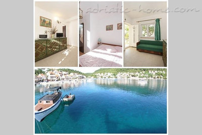 Leiligheter VILLA LAGARRELAX V Couple or friends apartment, Korčula, Kroatia - bilde 1