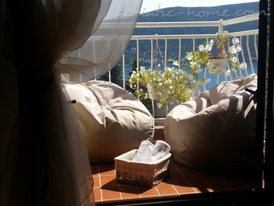 Ferienwohnungen Herceg Novi -Top floor two bedroom apartment with huge terrace and panoramic sea view, Herceg Novi, Montenegro - Foto 1