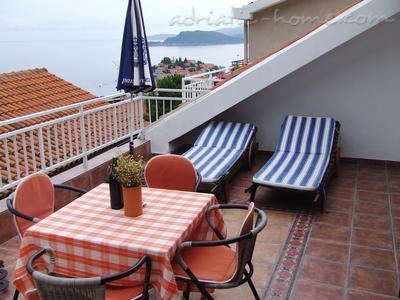 Apartmány Two-Bedroom ,with Sea View NR LUX ****, Sveti Stefan, Černá Hora - fotografie 1