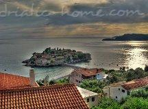 Apartmány Two-Bedroom ,with Sea View NR LUX ****, Sveti Stefan, Černá Hora - fotografie 13