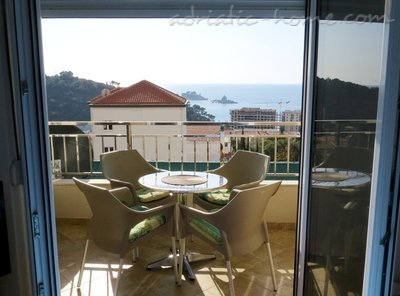 Apartmanok WITH BEAUTIFUL SEA VIEW, Petrovac, Montenegro - fénykép 10