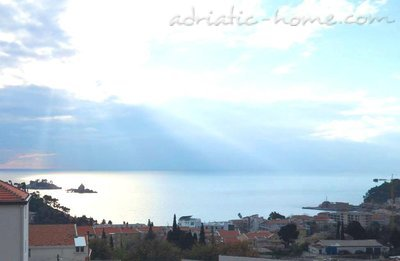 Leiligheter WITH BEAUTIFUL SEA VIEW, Petrovac, Montenegro - bilde 14