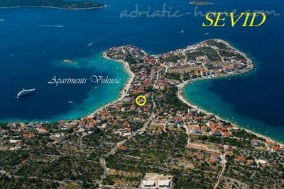 Apartments Vukusic, Sevid A3 (4+1), Trogir, Croatia - photo 1