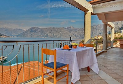 Апартаменты Kotor Bay Beautiful Sea View Apartment, Kotor, Черногория - фото 2