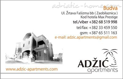 Studio apartment Adzic VI, Budva, Montenegro - photo 15