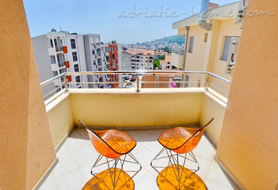 Appartementen Modern sea and mountain view apartment in Budva, Budva, Montenegro - foto 9