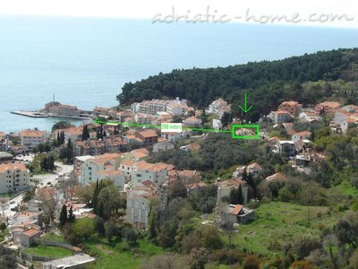 Apartments Gregovic III M&M 4-bed, Petrovac, Montenegro - photo 10