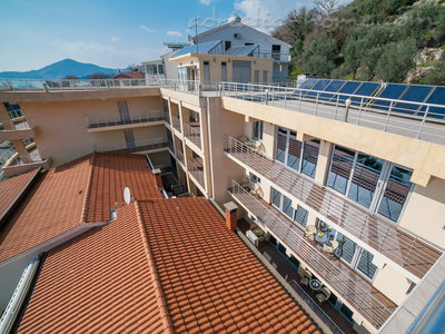 Apartmanok RAYMOND-One bedroom apartments with shared balcony, Pržno, Montenegro - fénykép 3