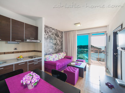 Apartmanok RAYMOND-One bedroom apartments with shared balcony, Pržno, Montenegro - fénykép 4