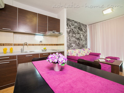 Apartmanok RAYMOND-One bedroom apartments with shared balcony, Pržno, Montenegro - fénykép 5