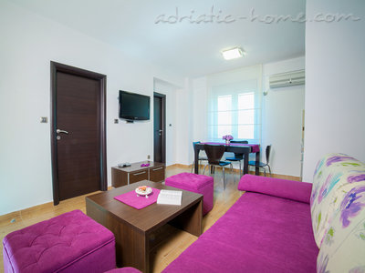 Apartmanok RAYMOND-One bedroom apartments with shared balcony, Pržno, Montenegro - fénykép 7