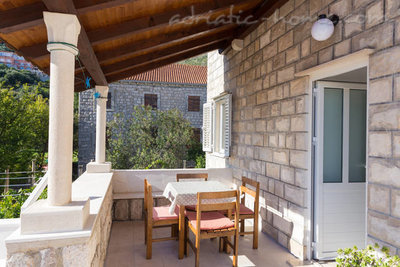 Studioleilighet Sunny apartment with big terrace, Zaton (Dubrovnik), Kroatia - bilde 6