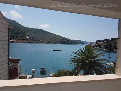 Estudio Lovely sea view studio apartment, Zaton (Dubrovnik), Croacia - foto 1
