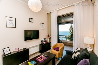 Appartementen Modern sea view apartment in Herceg Novi, Herceg Novi, Montenegro - foto 6