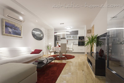 Apartmány Luxury apartment + parking, Split, Chorvátsko - fotografie 3