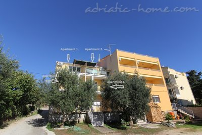 Appartements Beach house with seaview, Pakoštane, Croatie - photo 2